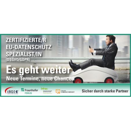 Zertifizierte/r EU-Datenschutz-Spezialist/in (DSGVO/GDPR)